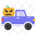 Pumpkin Truck Icon