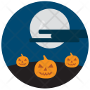 Pumpkins Night Scary Icon