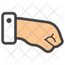 Punch Fighting Fist Icon