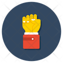 Punch Fist Hand Gesture Icon