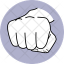 Punch Attack Boxing Icon