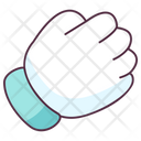 Punch Gesture Icon