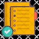 Punch Hole File Folder Punching Machine Hole File Folder Icon
