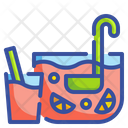 Punch Alcohol Glass Icon