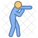 Punching Man Icon