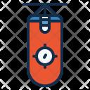 Punching Bag Sport Icon