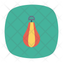 Punching Bag Boxing Exercise Icon