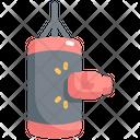 Punching Bag Boxing Icon