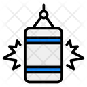 Punching Bag Boxing Bag Sports Equipment Icon