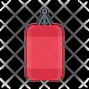 Boxing Bag Punching Icon