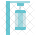 Fitness Gym Punching Bag Icon