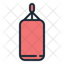 Punching Bag Bag Fitness Icon