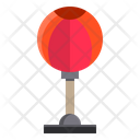 Punching Ball Sport Exercise Icon