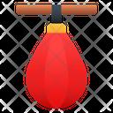 Punching Ball Gym Punching Bag Icon