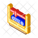 Punching Cutting Pipes Icon