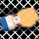 Punctual Employee Icon
