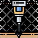 Puncture Driller Machine Driller Icon