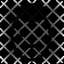 Punk Queit Man Icon
