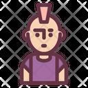 Punk avatars Icon
