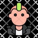 Punk User Avatar Icon