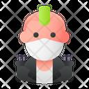 Punk Avatar Man Icon