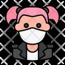 Punk Avatar Woman Icon