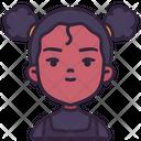 Girl Kid Children Icon
