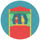 Puppet Show Doll Icon