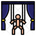 Puppet Theater Theater Circus Icon