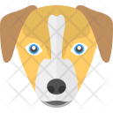 Puppy Face Dog Icon