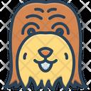 Puppy Dog Hairy Icon