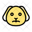 Puppy Frowning Icon
