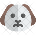 Puppy Frowning Animal Wildlife Icon