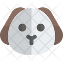 Puppy Without Mouth Animal Wildlife Icon