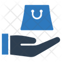 Hand Shopping Bag Purchase Icon