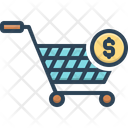 Purchase Supermarket Commercial Icon
