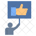 Recommendation Rate Review Icon