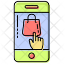 Mobile Touch Bags Icon