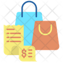 Purchase Invoice Shopping Bill Shopping Invoice Icon