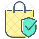 Purchase Protection Shopping Bag Hand Bag Icon