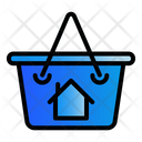 Cart House Buy Icon