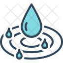 Pure Drop Droplet Icon