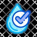 Healthy Water Drop Icon