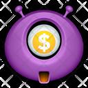 Purple Monster Alien Icon