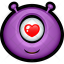 Purple Monster Icon