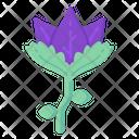 Purple Tulip Icon