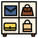Purse organizer Icon
