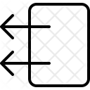 Push Object Left Icon
