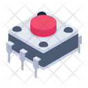 Switchboard Electric Switchboard Push Button Icon