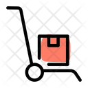 Push Cart Luggage Cart Trolley Icon